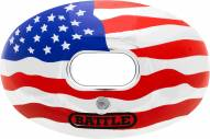 Battle Sports Oxygen Chrome USA Flag Lip Protector Mouthguard