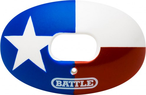 Battle Sports Oxygen Texas State Flag Lip Protector Mouthguard