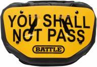 Battle Sports Shall Not Pass Adult Football Back Plate