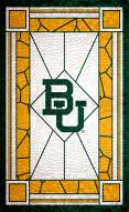 """Baylor Bears 11"""" x 19"""" Stained Glass Sign"""