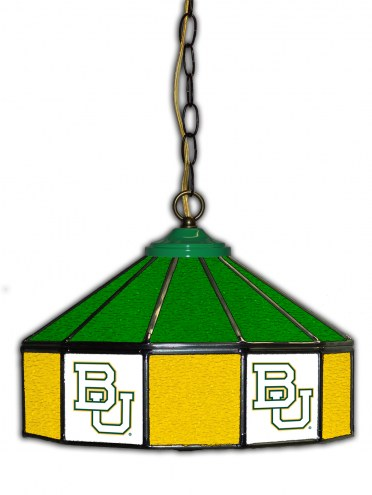 "Baylor Bears 14"" Glass Pub Lamp"