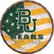 "Baylor Bears 16"" Flag Barrel Top"