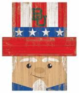 "Baylor Bears 19"" x 16"" Patriotic Head"