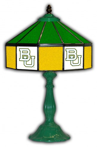 "Baylor Bears 21"" Glass Table Lamp"