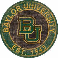"Baylor Bears 24"" Heritage Logo Round Sign"