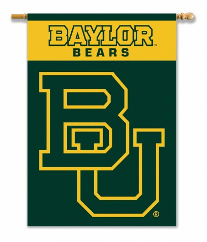 """Baylor Bears 28"""" x 40"""" Two-Sided Banner"""