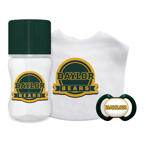 Baylor Bears 3-Piece Baby Gift Set