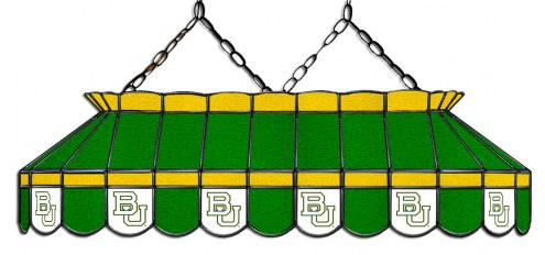 """Baylor Bears 40"""" Stained Glass Pool Table Light"""