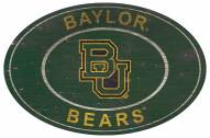 "Baylor Bears 46"" Heritage Logo Oval Sign"