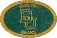 "Baylor Bears 46"" Team Color Oval Sign"
