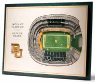 Baylor Bears 5-Layer StadiumViews 3D Wall Art