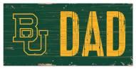 "Baylor Bears 6"" x 12"" Dad Sign"
