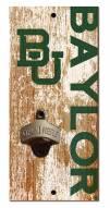 "Baylor Bears 6"" x 12"" Distressed Bottle Opener"