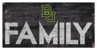 "Baylor Bears 6"" x 12"" Family Sign"
