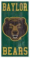 "Baylor Bears 6"" x 12"" Heritage Logo Sign"
