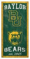 "Baylor Bears 6"" x 12"" Heritage Sign"