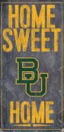 "Baylor Bears 6"" x 12"" Home Sweet Home Sign"