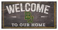 "Baylor Bears 6"" x 12"" Welcome Sign"