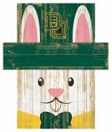 """Baylor Bears 6"""" x 5"""" Easter Bunny Head"""