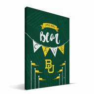 "Baylor Bears 8"" x 12"" Little Man Canvas Print"