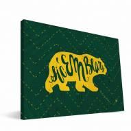 "Baylor Bears 8"" x 12"" Mascot Canvas Print"