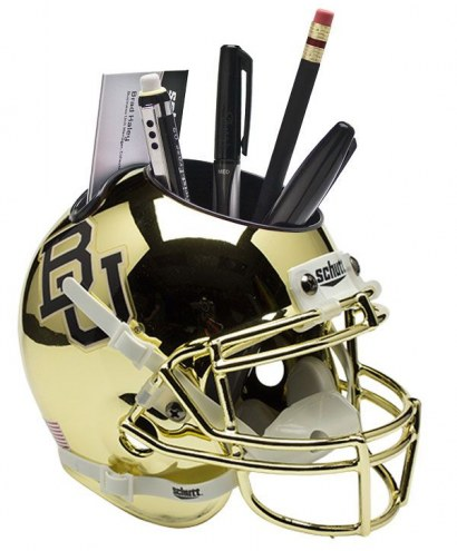 Baylor Bears Alternate 3 Schutt Football Helmet Desk Caddy