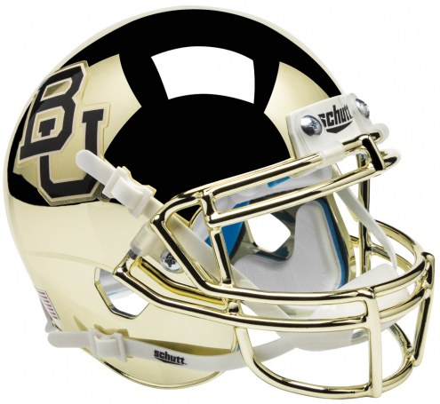 Baylor Bears Alternate 3 Schutt Mini Football Helmet