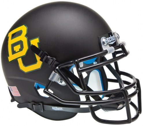 Baylor Bears Alternate 4 Schutt Mini Football Helmet