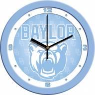 Baylor Bears Baby Blue Wall Clock