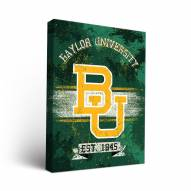 Baylor Bears Banner Canvas Wall Art