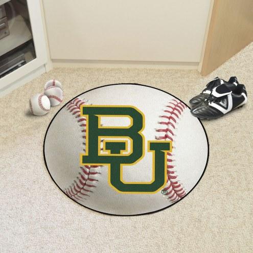 Baylor Bears Baseball Rug
