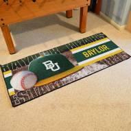 Baylor Bears Baseball Runner Rug