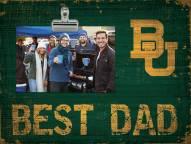 Baylor Bears Best Dad Clip Frame