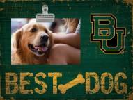 Baylor Bears Best Dog Clip Frame