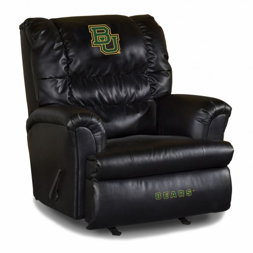 Baylor Bears Big Daddy Leather Recliner