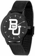 Baylor Bears Black Dial Mesh Statement Watch