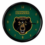 Baylor Bears Black Rim Clock