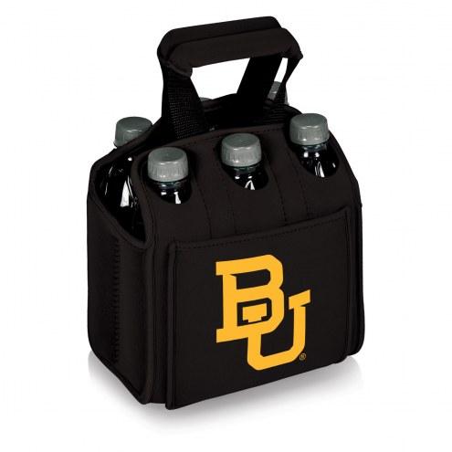 Baylor Bears Black Six Pack Cooler Tote