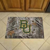 Baylor Bears Camo Scraper Door Mat