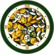 Baylor Bears Candy Wall Clock