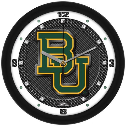 Baylor Bears Carbon Fiber Wall Clock