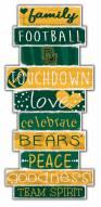Baylor Bears Celebrations Stack Sign
