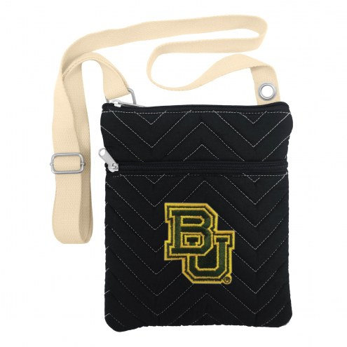 Baylor Bears Chevron Stitch Crossbody Bag