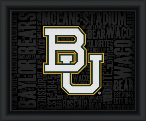 Baylor Bears College Word Cloud