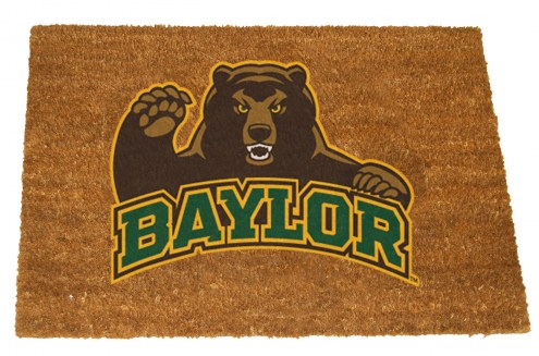 Baylor Bears Colored Logo Door Mat