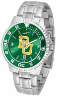 Baylor Bears Competitor Steel AnoChrome Color Bezel Men's Watch