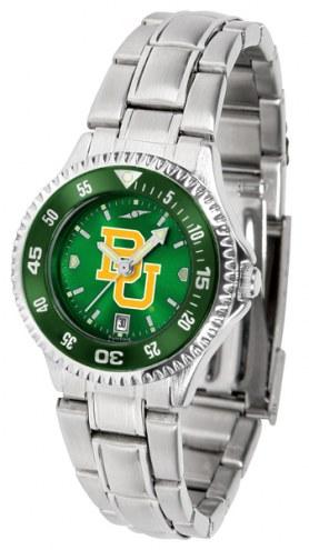 Baylor Bears Competitor Steel AnoChrome Women's Watch - Color Bezel