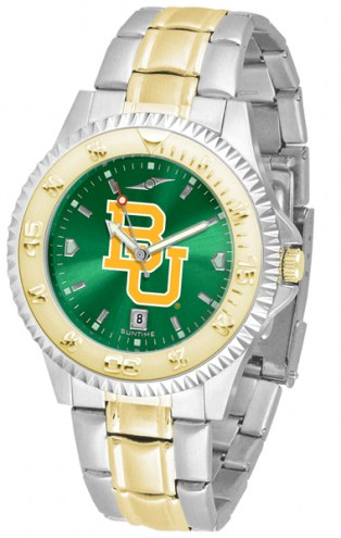 Baylor Bears Competitor Two-Tone AnoChrome Men's Watch