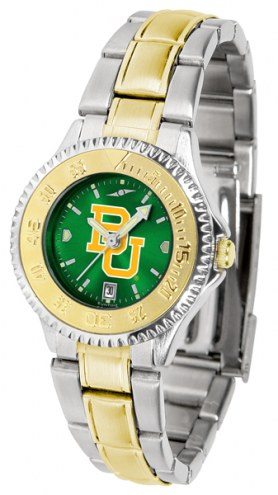Baylor Bears Competitor Two-Tone AnoChrome Women's Watch