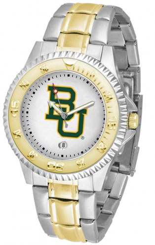 Baylor Bears Competitor Two-Tone Men's Watch